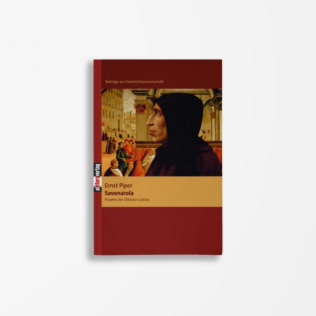 Buchcover Ernst Piper Savonarola