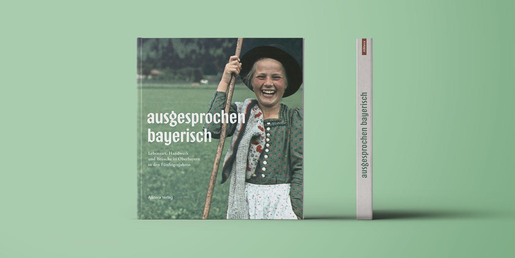 Buchcover Paul Ernst Rattelmüller ausgesprochen bayerisch