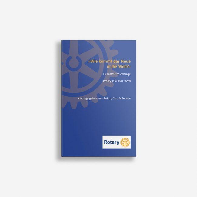 Buchcover Rotary Wie kommt das neue in die Welt