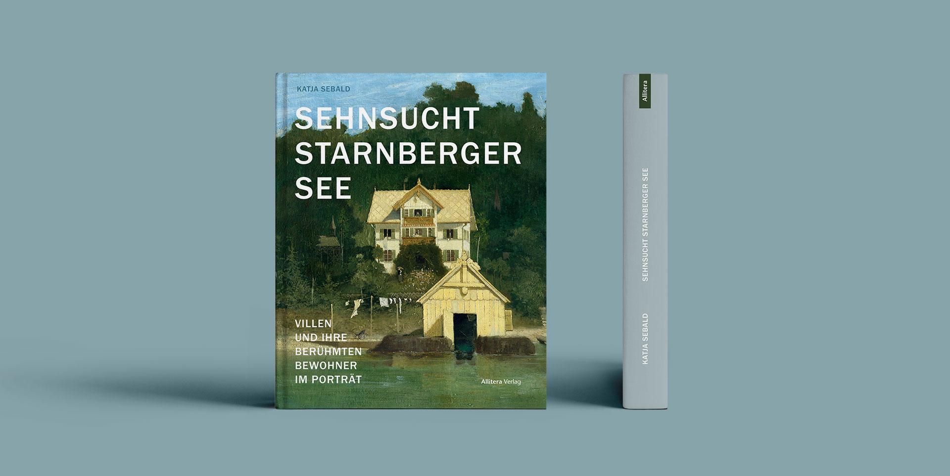 Buchcover stehend Katja Seebald Sehnsucht Starnberger See
