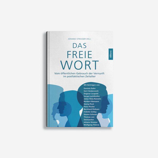 Buchcover Johano Strasser Das freie Wort