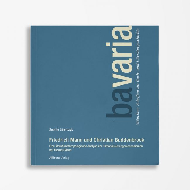 Buchcover Sophie Strelczyk Friedrich Mann und Christian Buddenbrook