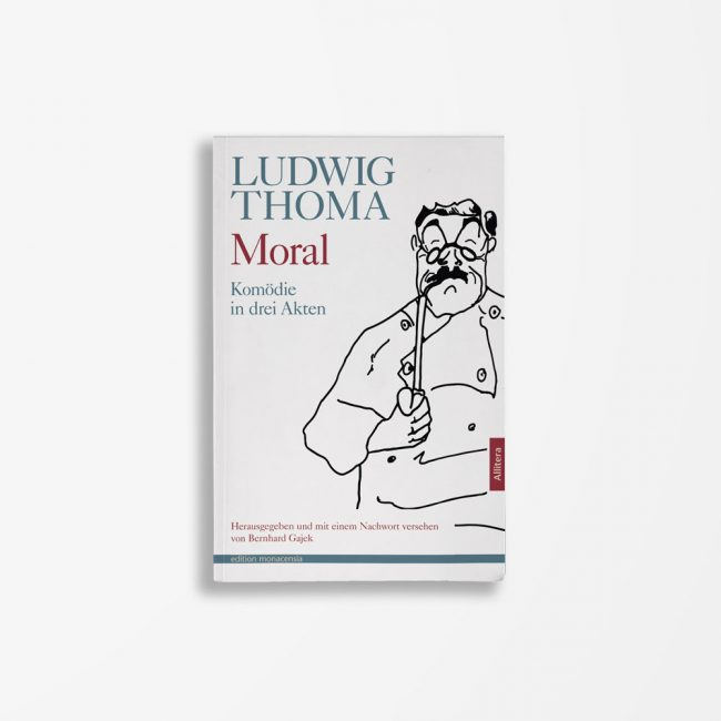 Buchcover Ludwig Thoma Moral