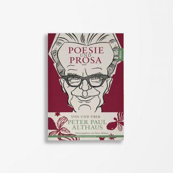 Buchcover Hans Althaus Poesie und Prosa von und über Peter Paul Althaus