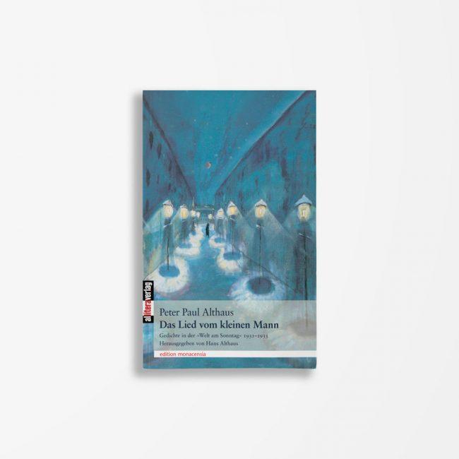 Buchcover Peter Paul Althaus Das Lied vom kleinen Mann