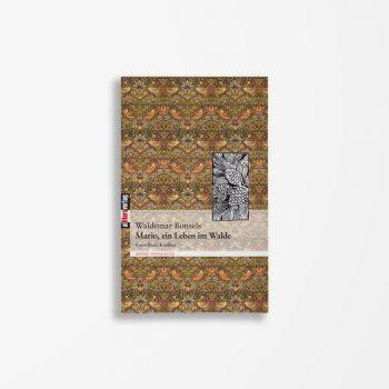 Buchcover Waldemar Bonsels Mario ein Leben im Walde 1