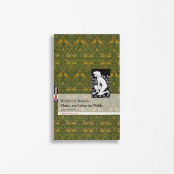 Buchcover Waldemar Bonsels Mario ein Leben im Walde 2