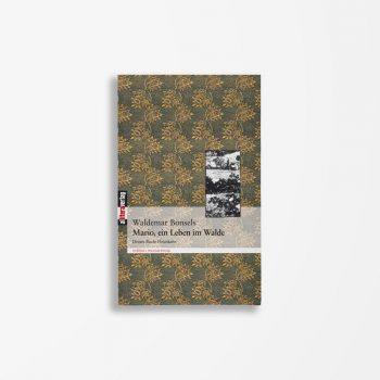 Buchcover Waldemar Bonsels Mario ein Leben im Walde 3