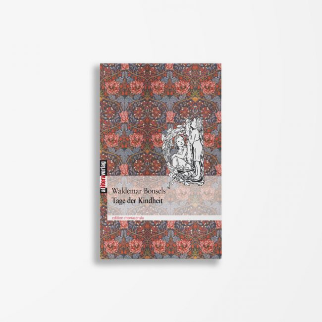 Buchcover Waldemar Bonsels Tage der Kindheit