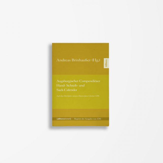 Buchcover Augsburgischer Compendiöser Hand- Schreib- und Sack-Calender