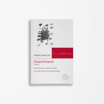 Buchcover Wolfram Malte Fues SkalpeSkalpelle