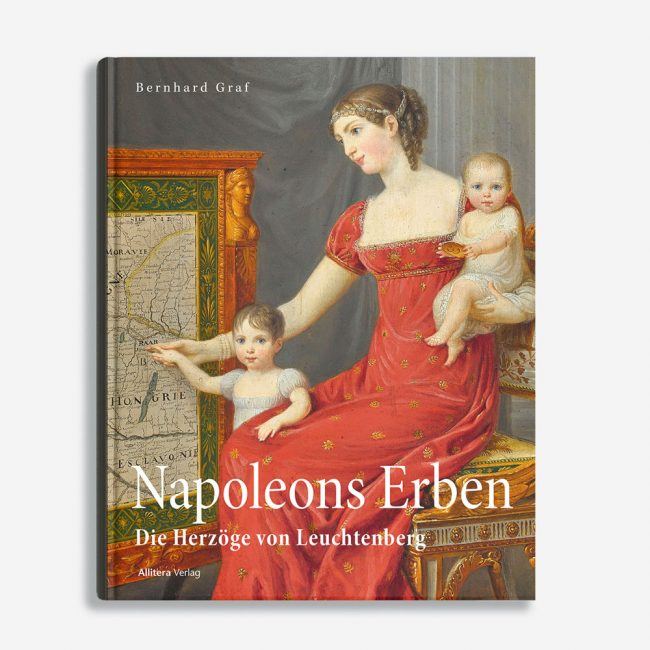 Buchcover Bernhard Graf Napoleons Erben