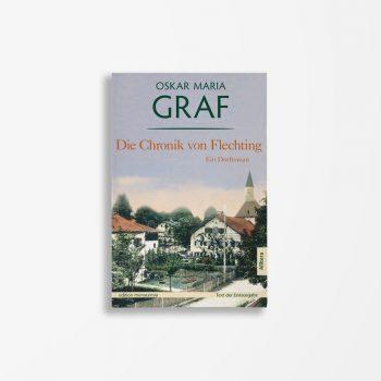 Buchcover Oskar Maria Graf Die Chronik von Flechting