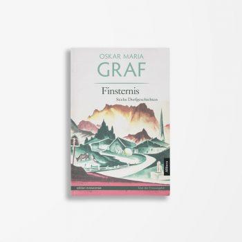 Buchcover Oskar Maria Graf Finsternis
