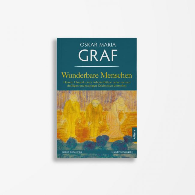 Buchcover Oskar Maria Graf Wunderbare Menschen