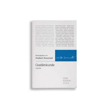 Buchcover Norbert Hummelt Quellenkunde