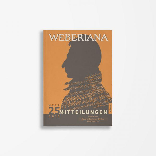 Buchcover Internationale Carl-Maria-von-Weber-Gesellschaft e. V. Weberiana 25
