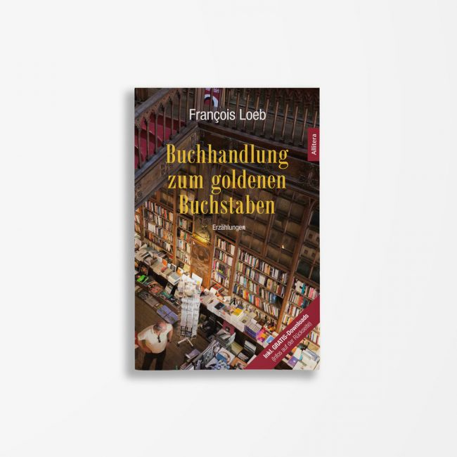 Buchcover François Loeb Buchhandlung zum goldenen Buchstaben