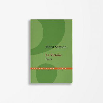 Buchcover Horst Samson La Victoire
