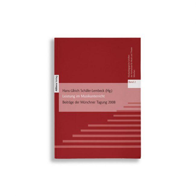 Buchcover Hans-Ulrich Schäfer-Lembeck Leistung im Musikunterricht