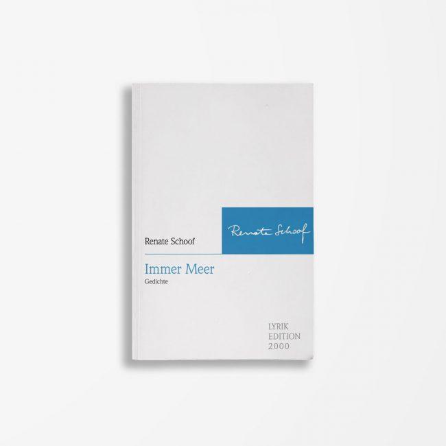 Buchcover Renate Schoof Immer Meer
