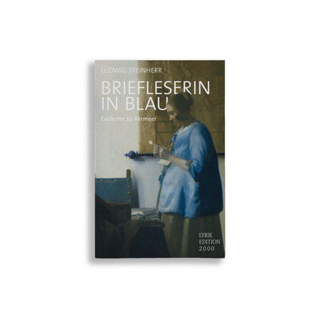 Buchcover Ludwig Steinherr Briefleserin in Blau