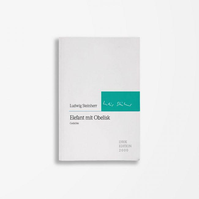Buch Ludwig Steinherr Elefant mit Obelisk