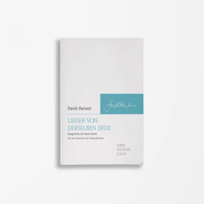 Buchcover David Harsent Lieder von derselben Erde