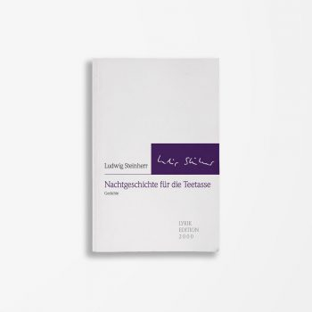 Buchcover Ludwig Steinherr Nachtgeschichte für die Teetasse