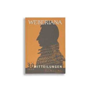 Buchcover Internationale Carl-Maria-von-Weber-Gesellschaft e. V. Weberiana 30