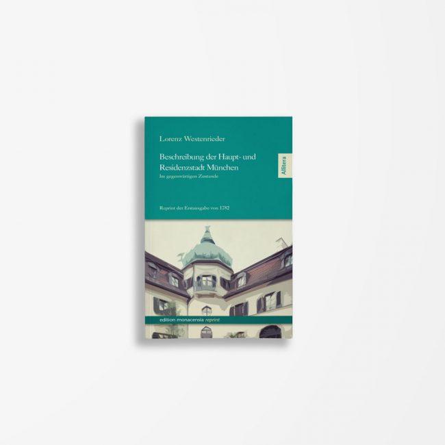 Buchcover Lorenz Westenrieder Beschreibung der Residenzstadt München