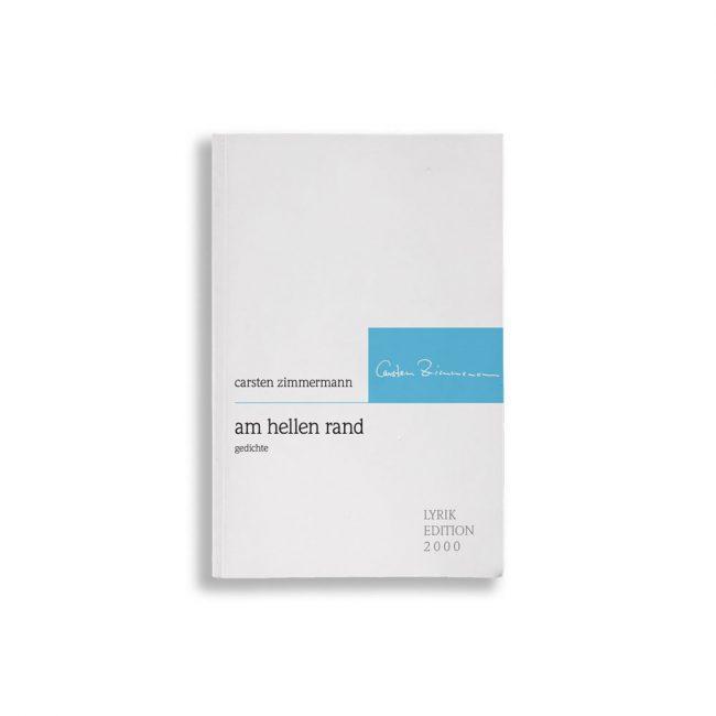 Buchcover Carsten Zimmermann am hellen rand