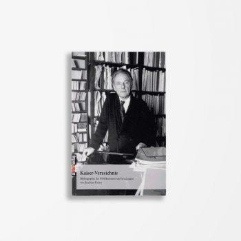 Buchcover Gesa Ansaar Gert Rabanus Kaiser-Verzeichnis