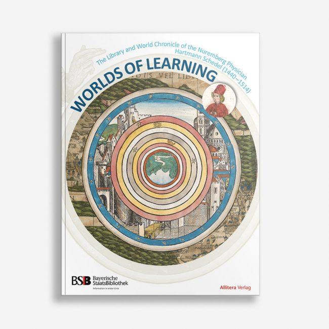 Buchcover Bayerische Staatsbibliothek Worlds of Learning