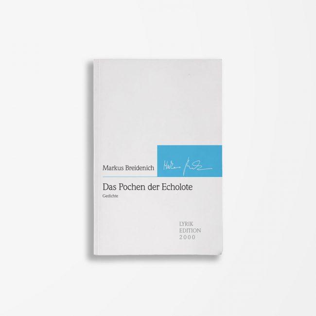 Buchcover Markus Breindenich Das Pochen der Echolote