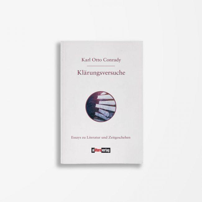 Buchcover Karl Otto Conrady Klärungsversuche