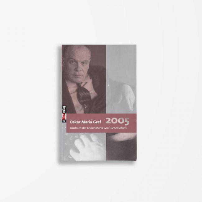 Buchcover Ulrich Dittmann Hans Dollinger Oskar Maria Graf 2005