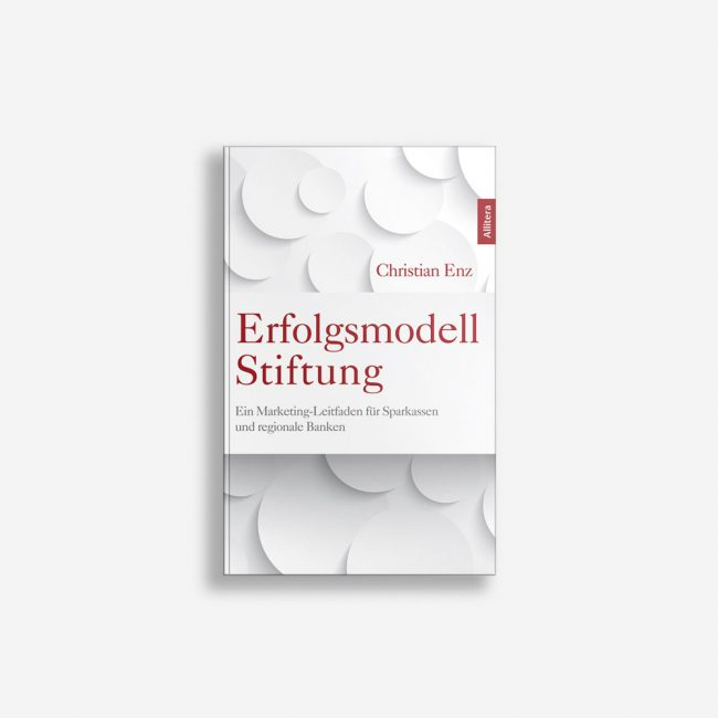 Buchcover Christian Enz Erfolgsmodell Stiftung