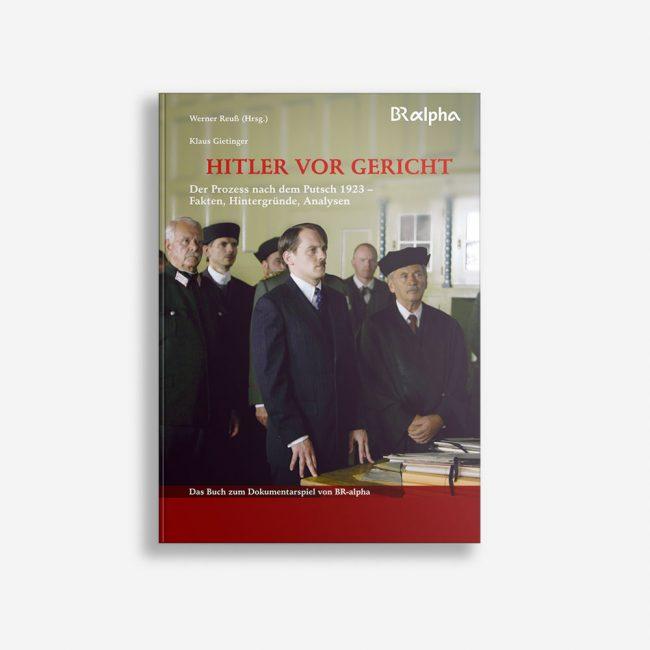 Buchcover Werner Reuß Klaus Gietinger Hitler vor Gericht