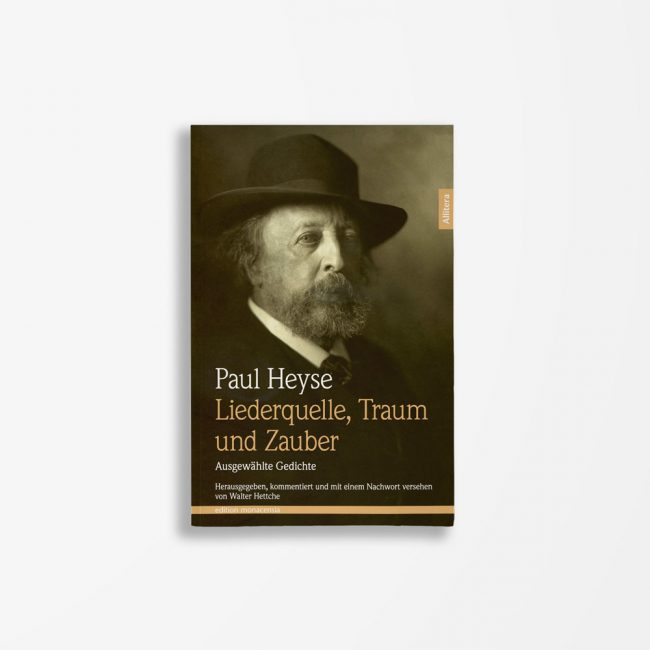 Buchcover Paul Heyse Liederquelle Traum und Zauber