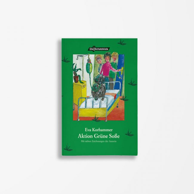 Buchcover Eva Korhammer Aktion Grüne Soße