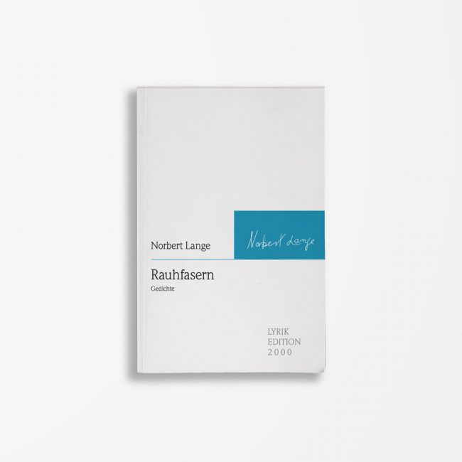Buchcover Norbert Lange Rauhfasern
