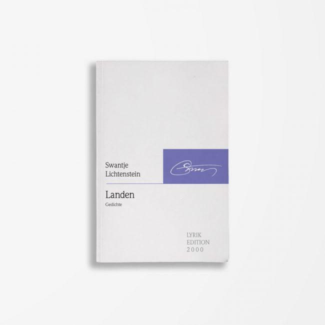 Buchcover Swantje Lichtenstein Landen