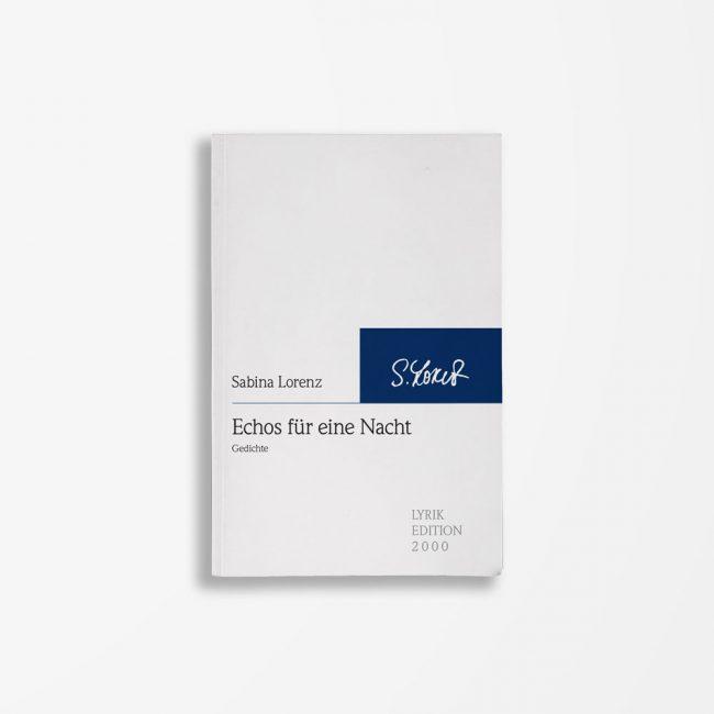 Buchcover Sabina Lorenz Echos für eine Nacht