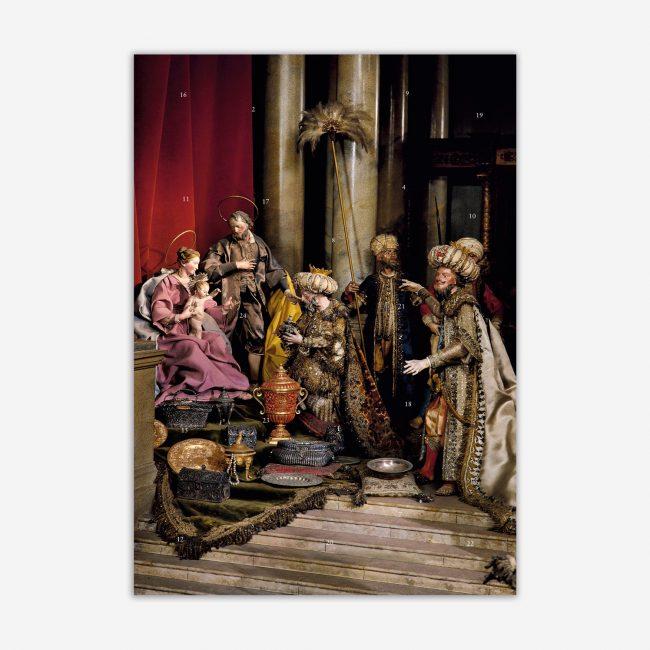 Cover Dietlind Pedarnig Krippen-Adventskalender