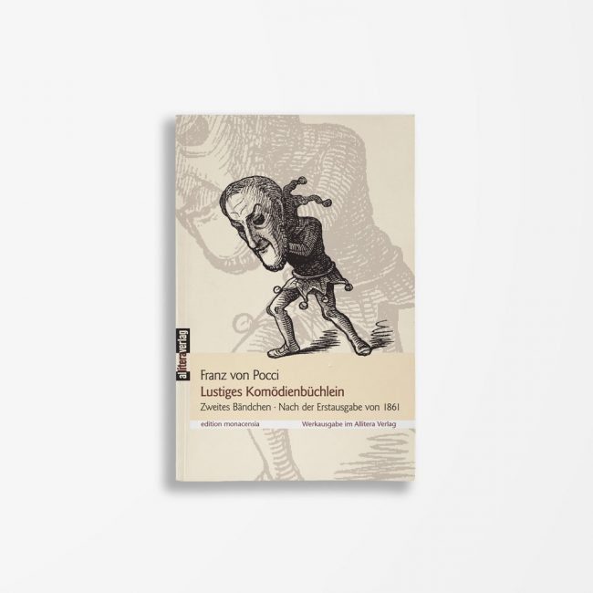 Buchcover Franz von Pocci Lustiges Komödienbüchlein 2