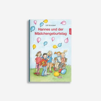 Buchcover Ulli Schubert Hannes und der Mädchengeburtstag