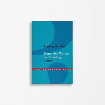 Buchcover Ludwig Steinherr Hinter den Worten die Brandung