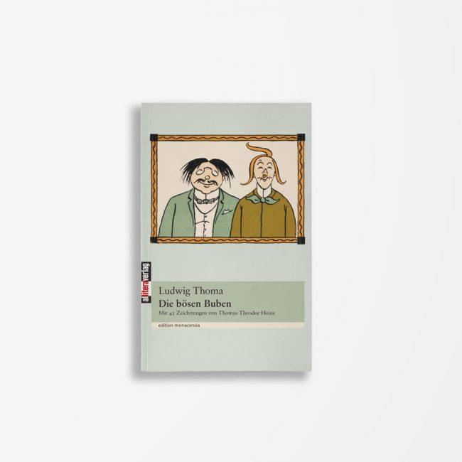 Buchcover Ludwig Thoma Die bösen Buben