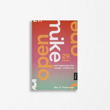 Buchcover-Literaturwerkstatt Berlin-Wettbewerb für junge Literatur-29. open mike